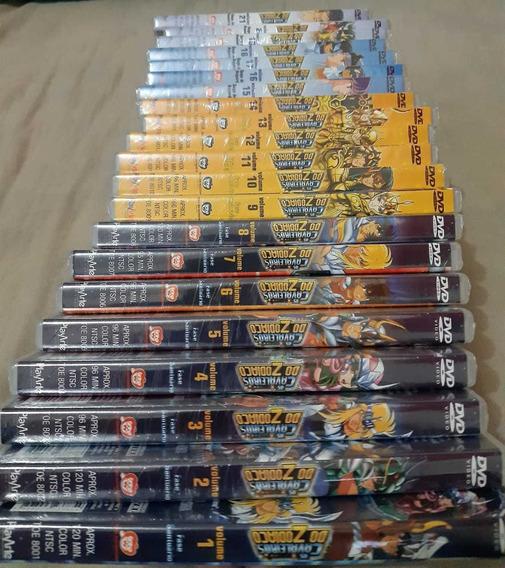 Box Original Play Arte Dvd Cavaleiros Do Zodíaco (raro)
