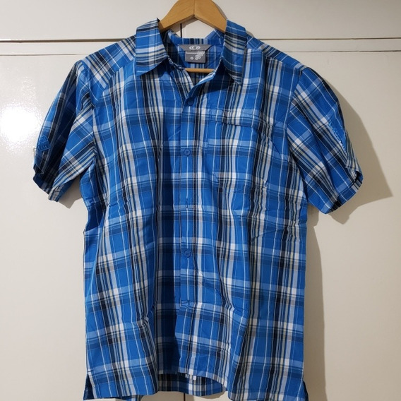 Camisa Manga Corta Salomon Impecable Talle S