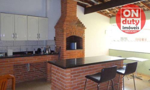 Sobrado Com 3 Dormitórios À Venda, 125 M² Por R$ 900.000,00 - Cambuci - São Paulo/sp - So0539