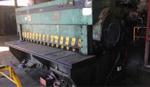 Guillotina Daisa 3000x10mm Embrague Neumático Envios