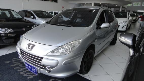 Peugeot 307 2.0 Feline 2007 Completo, Couro, Ar Digital,novo