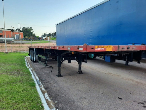 Carreta Porta Container Bobineira Facchini 2012 = Sider Bau