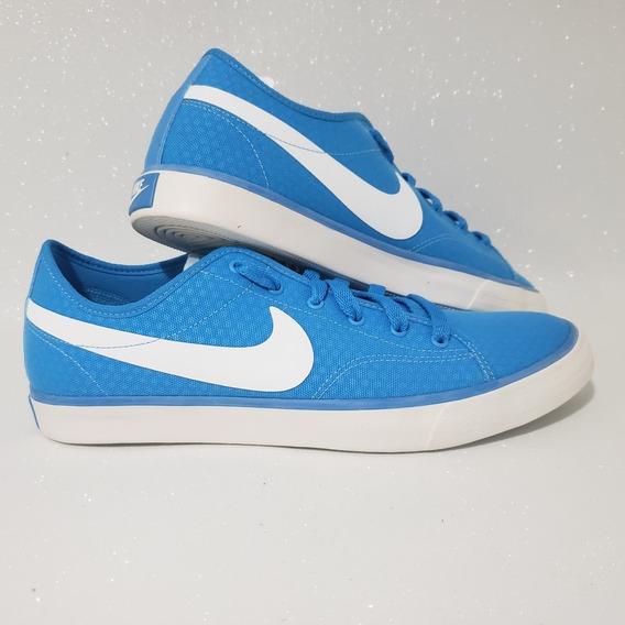 Tenis Primo Court Feminino Sapatenis Casual Azul Original