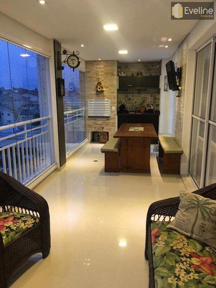 Apartamento Com 3 Dorms, Vila Nova Socorro, Mogi Das Cruzes - R$ 890 Mil, Cod: 1022 - V1022