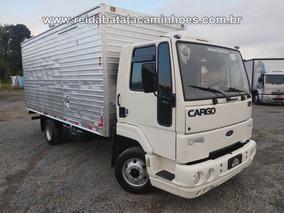 Ford Cargo 815 Cummins Turbo Intercooler Baú Linshalm 5,50m
