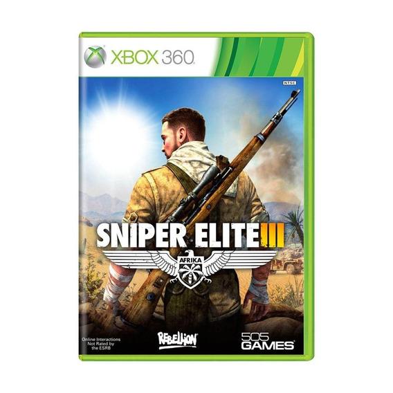 Sniper Elite Iii Xbox 360 Mídia Física Pronta Entrega