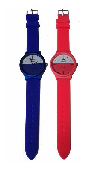 Kit 10 Relógio Feminino Analógico Silicone Cores Marcas