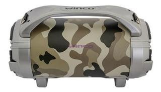 Winco W-215 Parlante Potenciado T/bazooka Bluetooth/usb