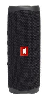 Bocina JBL Flip 5 portátil inalámbrica Black matte