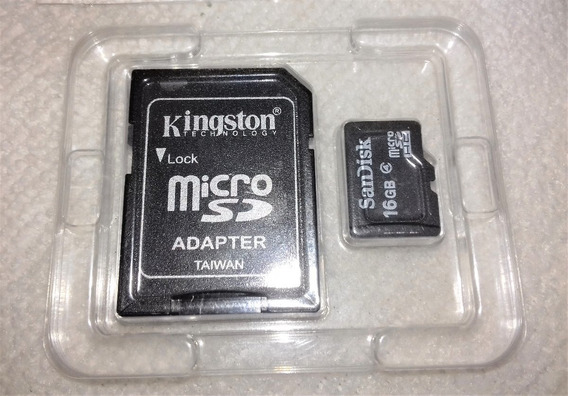 Cartão De Memória Micro Sd 16gb Classe 4 Sandisk Original