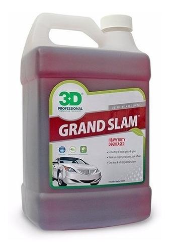 Imagen 1 de 2 de Desengrasante Para Motores / 3d Grand Slam / 4lts. / Detail