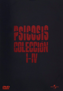 Dvd Psicosis Coleccion / Psycho Collection / Incluye 4 Films
