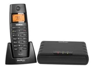 Micro Central Telefônica Ip Dect Intelbras Ts60ip Pt + 2 Ipr