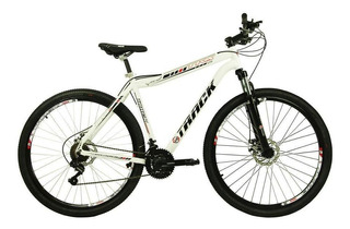 Bicicleta Track & Bikes Alumínio Tks29 21v Aro 29 Branco