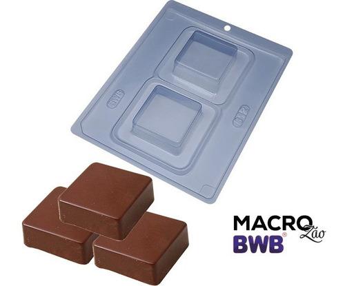 Forma Bwb Silicone Pao De Mel Quadrado Ref812