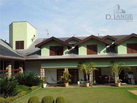 Casa Com 4 Dormitórios À Venda, 540 M² Por R$ 3.500.000 - Condomínio Vale Do Itamaracá - Valinhos/sp - Ca4516