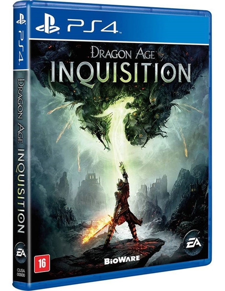 Dragon Age Inquisition Ps4 Mídia Física Português Lacrado