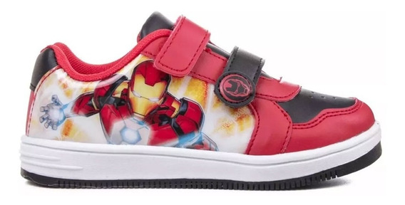 Zapatillas Marvel Casual Abrojo Ironman Mvl007 4000