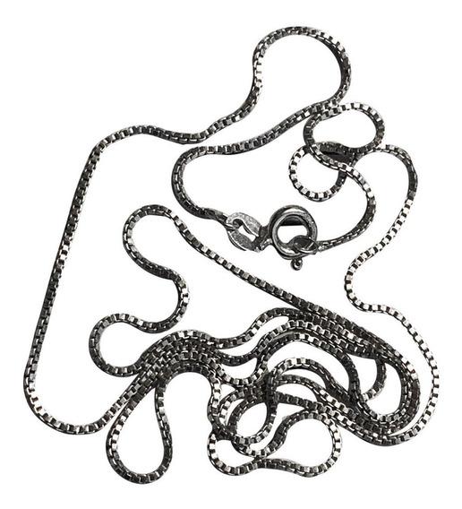 Colar Masculino Prata 925 Maciça 60cm Frete Grátis