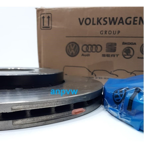 Jg Disco De Freio (par) Original Volkswagen Up Gol Voyage G7