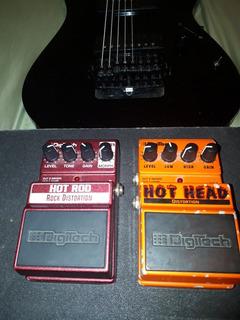 Pedales Efectos Para Guitarra Electrica Hot Head Y Hot Rod