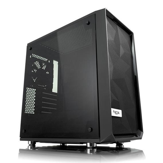 Gabinete Fractal Meshify C Mini Darkt Tg Micro Atx