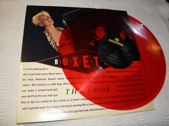 Roxette - The Look (head Drum Mix) Maxi 12 Vinilo Rojo