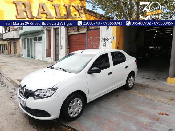 Renault Logan 2019 U$s 7000 Y Cuotas Sola Firma