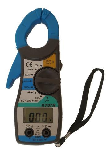 Multimetro + Pinza Amperimetrica Digital Kt87