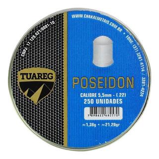 Chumbinho Tuareg Poseidon 5.5mm 250un.