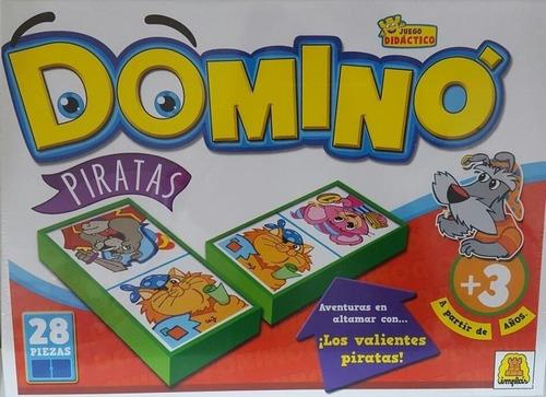 Juego De Mesa Domino Piratas Implas