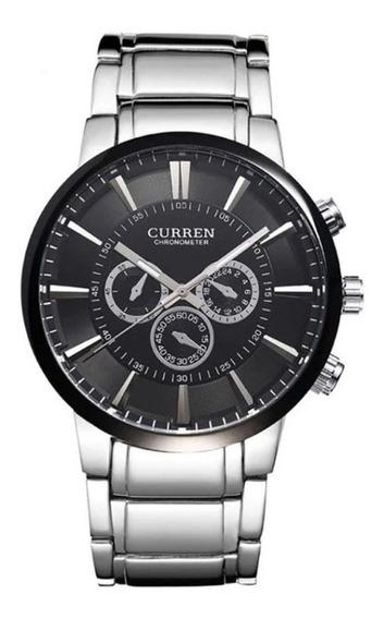 Relógio Curren Masculino Esportivo Original Garantia