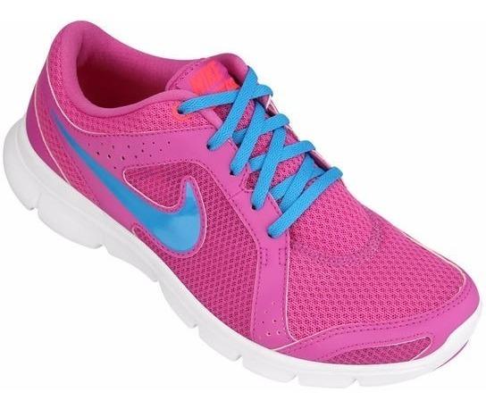Nike Tênis Flex Experience Rn 2 W Rosa Azul - Original - Df