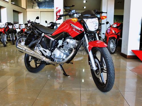 Honda Cg 150 Titan 0km 2021 Tarjeta Cuotas Ahora 18 Motonet
