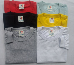 Kit C/ 3 Camiseta Bebê Infantil Manga Longa - Do P Ao 03