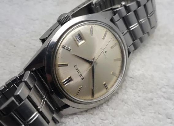 Relógio Seiko Corda Manual Máquina 6602