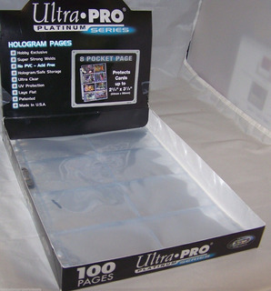Mica Para Super Card Ultra-pro Platinum Series X 10 Unidades
