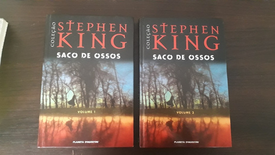 Saco De Ossos Vol. 1 E 2 - Stephen King