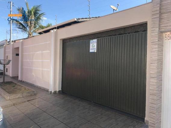 Casa Com 3 Dormitórios Para Alugar, 126 M² Por R$ 1.500/mês - Parque Brasília 2ª Etapa - Anápolis/go - Ca1551
