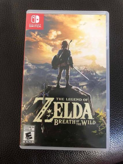Jogo Zelda Breath Of The Wild Nintendo Switch Mídia Física