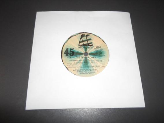 The Temptations - Quien Eres Tu * Simple Vinilo Motown