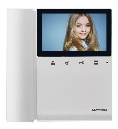 Kit Commax Portero Electrico Visor Cdv 43k M Saca Foto Video