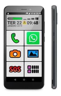 Obabox ObaSmart 2 Dual SIM 8 GB Preto 1 GB RAM
