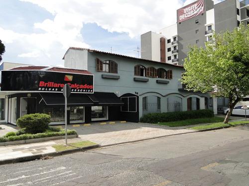 Sobrado Comercial Com 2 Dormitórios Para Alugar Com 200m² Por R$ 2.980,00 No Bairro Vila Izabel - Curitiba / Pr - Cm0028