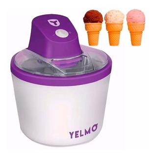Fabrica De Helados Yelmo Ice Cream Maker 1.5 Lts Rapidisimos - Garantia Oficial