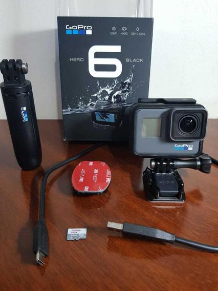 Câmera Profissional Gopro 6 Black