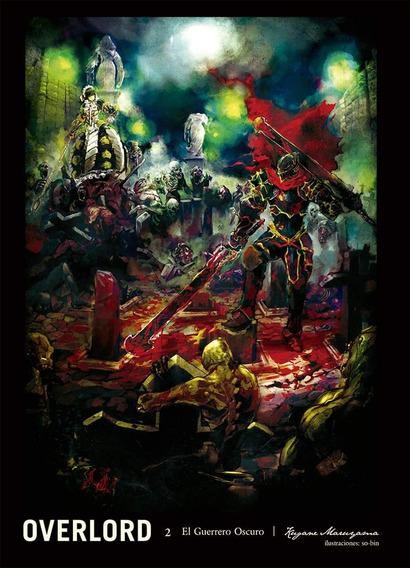 Overlord N.2 Novela El Guerrero Oscuro Nuevo Panini