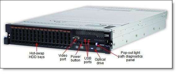 Servidor Ibm System X3690 X5 128 Gb Ram 2 Octa Core 2 Hd 300