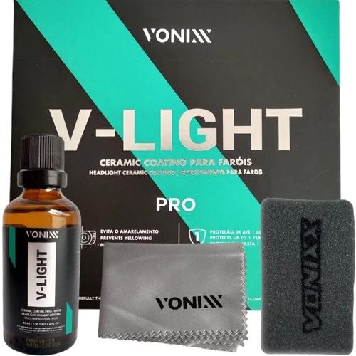 Imagem 1 de 8 de V-light Pro Ceramic Coating Vitrificador Faróis Vonixx 50ml