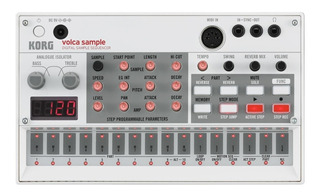 Korg Volca Sample Sampler Portatil Electribe Midi Digital